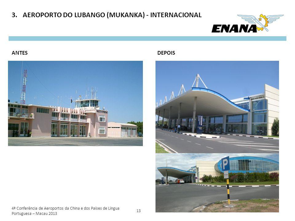 AEROPORTO DO LUBANGO (MUKANKA) - INTERNACIONAL