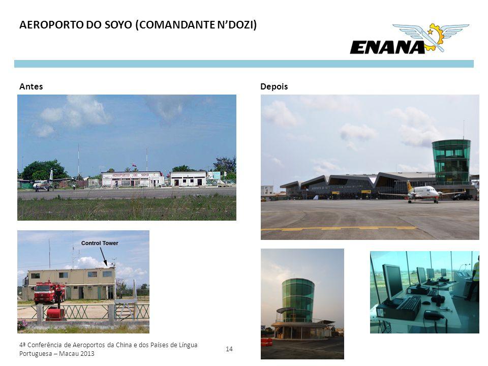 AEROPORTO DO SOYO (COMANDANTE N'DOZI)