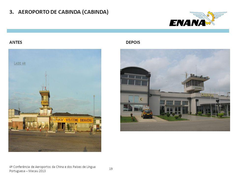 AEROPORTO DE CABINDA (CABINDA)
