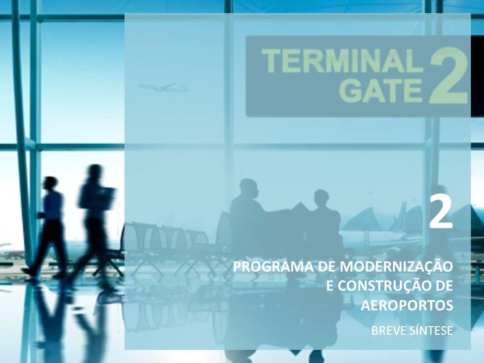 2 PROGRAMA DE MODERNIZAÇÃO E CONSTRUÇÃO DE AEROPORTOS BREVE SÍNTESE