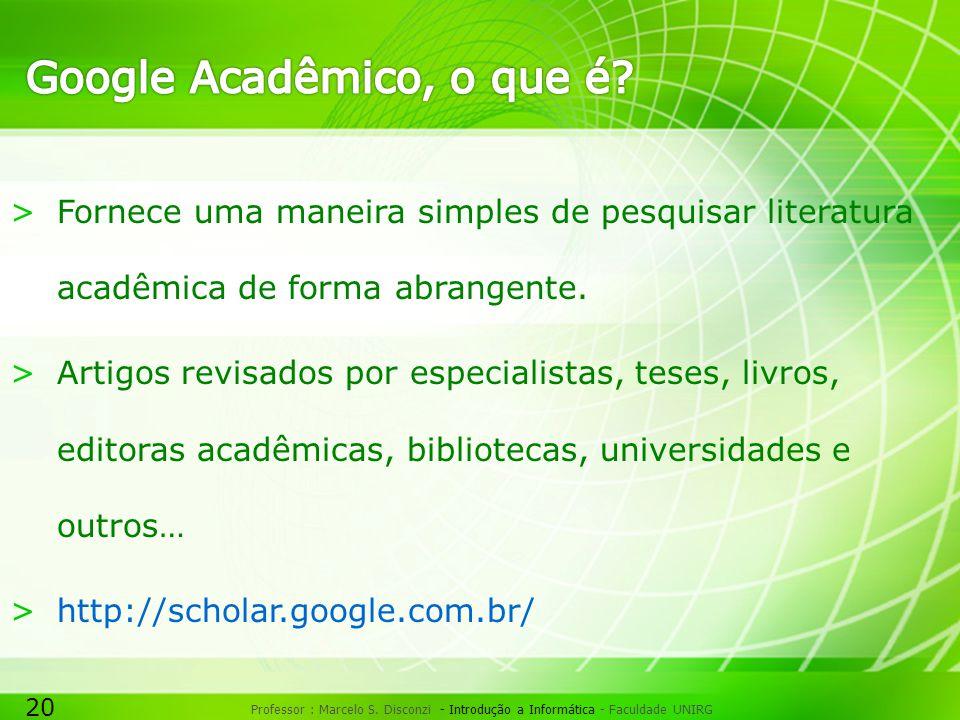 Google Acadêmico, o que é