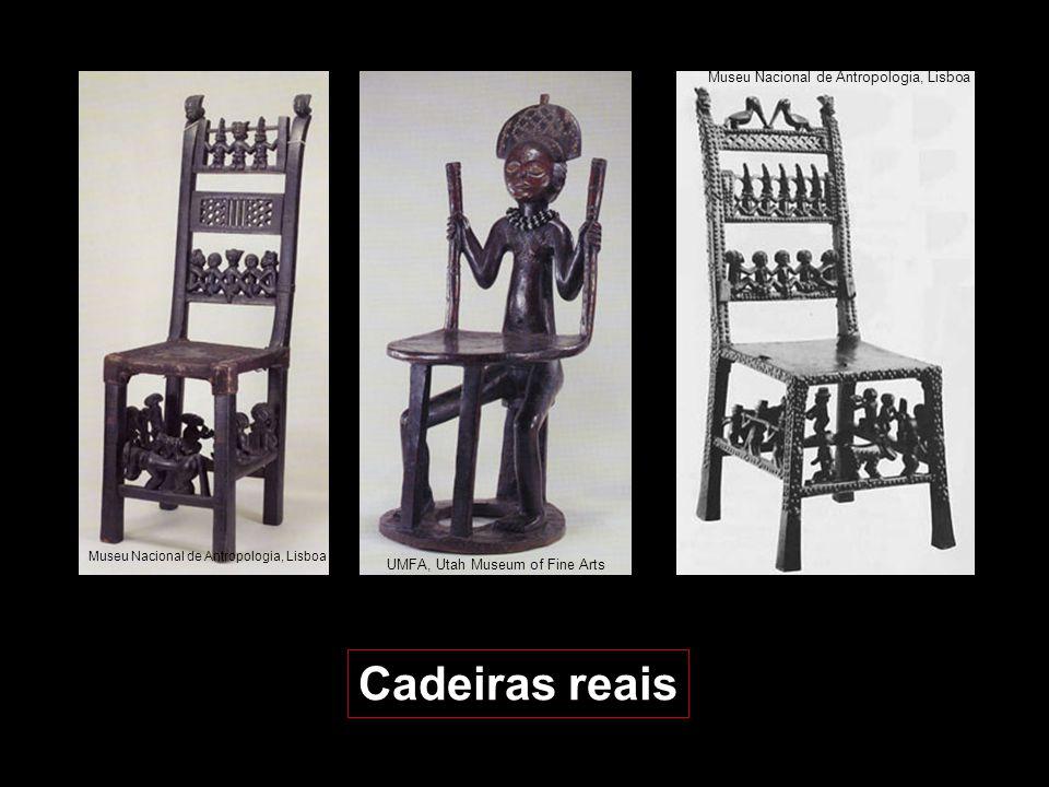 Cadeiras reais Museu Nacional de Antropologia, Lisboa