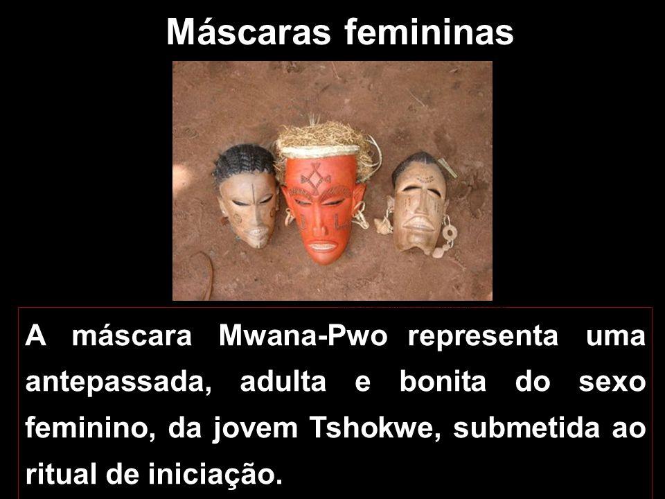 Máscaras femininas Museu Nacional de Antropologia, Lisboa.