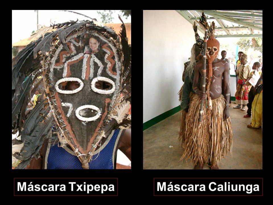 Máscara Txipepa Máscara Caliunga