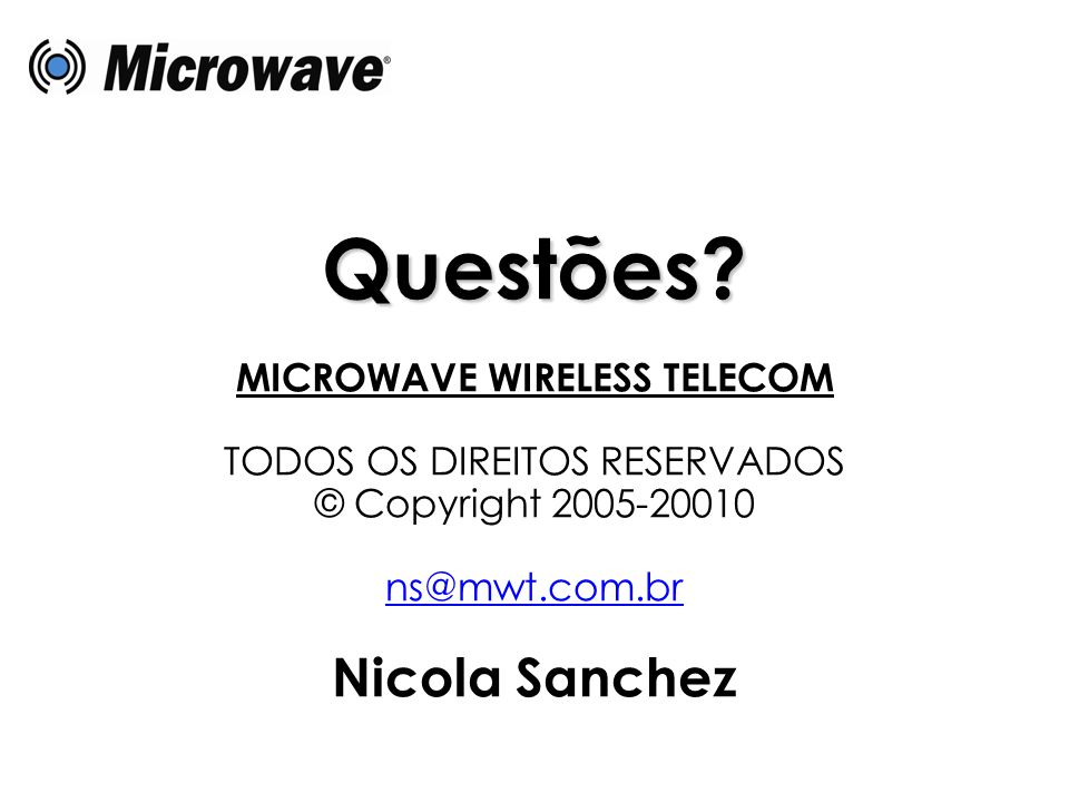 MICROWAVE WIRELESS TELECOM