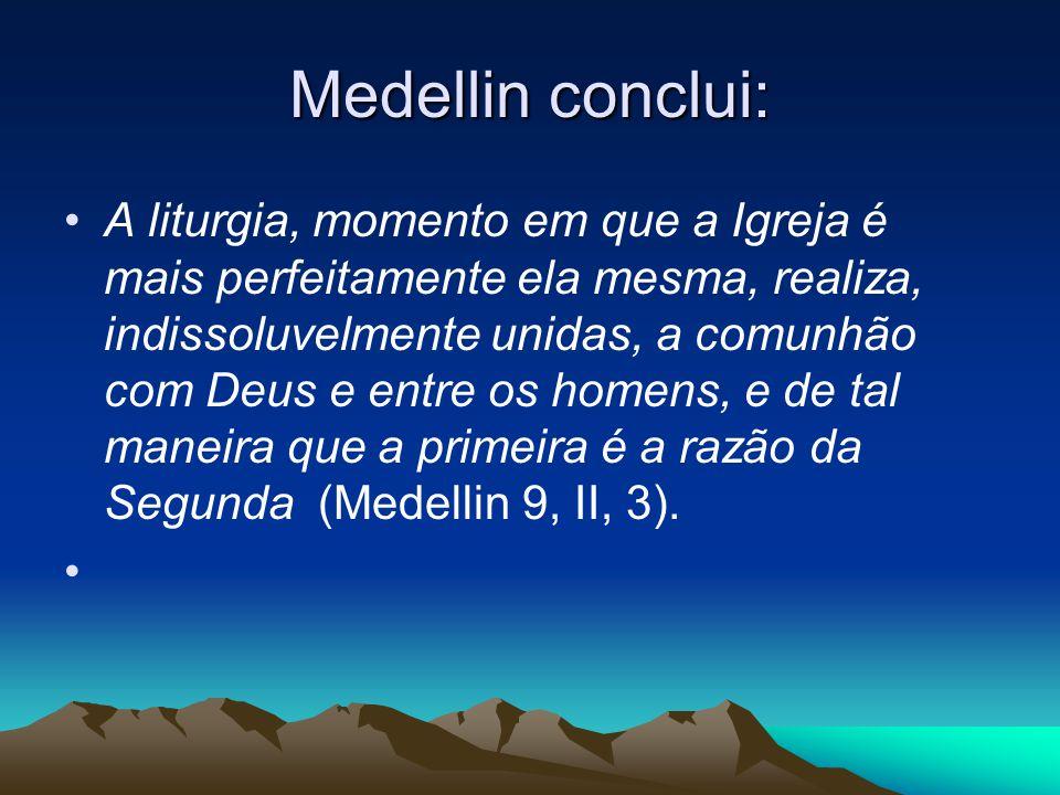 Medellin conclui: