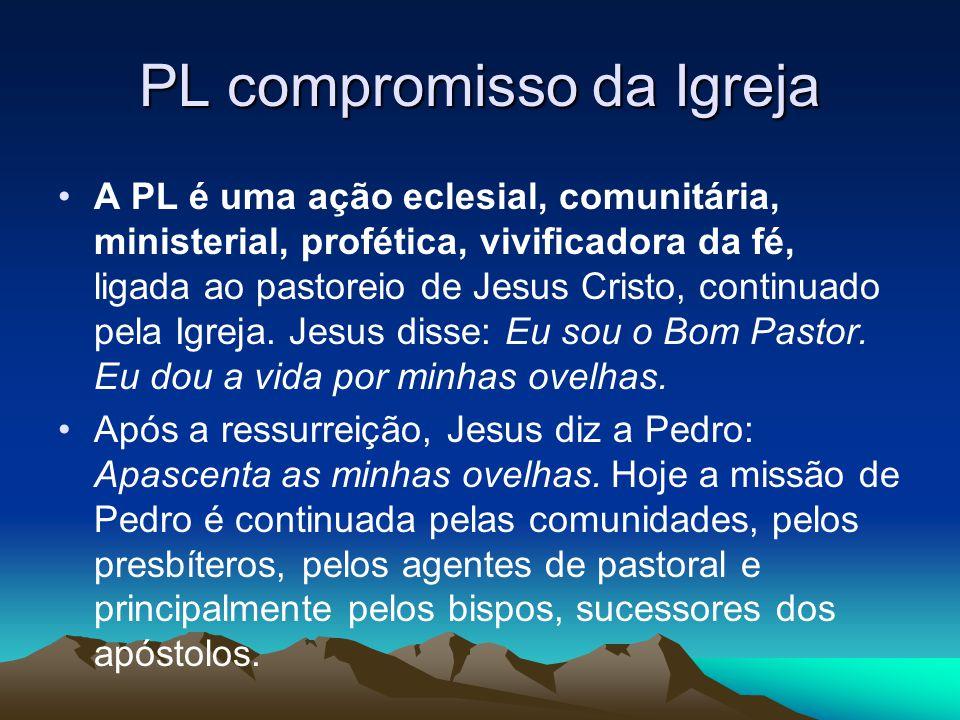 PL compromisso da Igreja