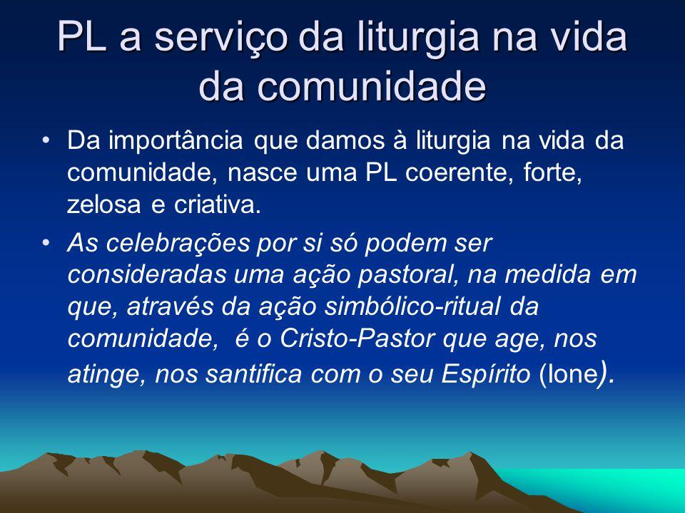 PL a serviço da liturgia na vida da comunidade
