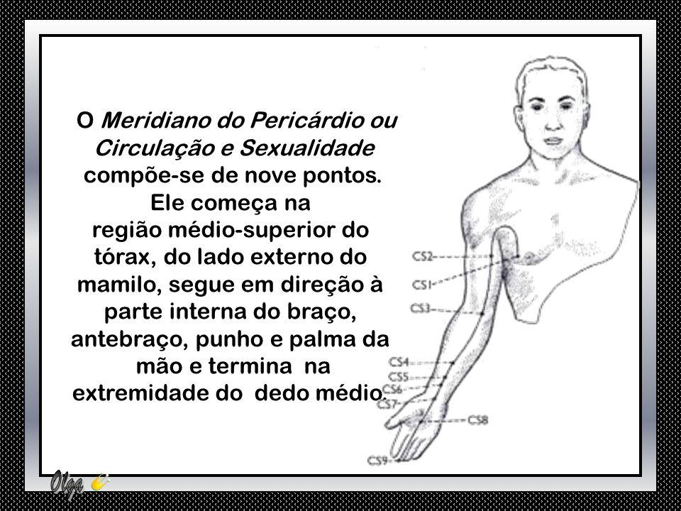 O Meridiano do Pericárdio ou Circulação e Sexualidade