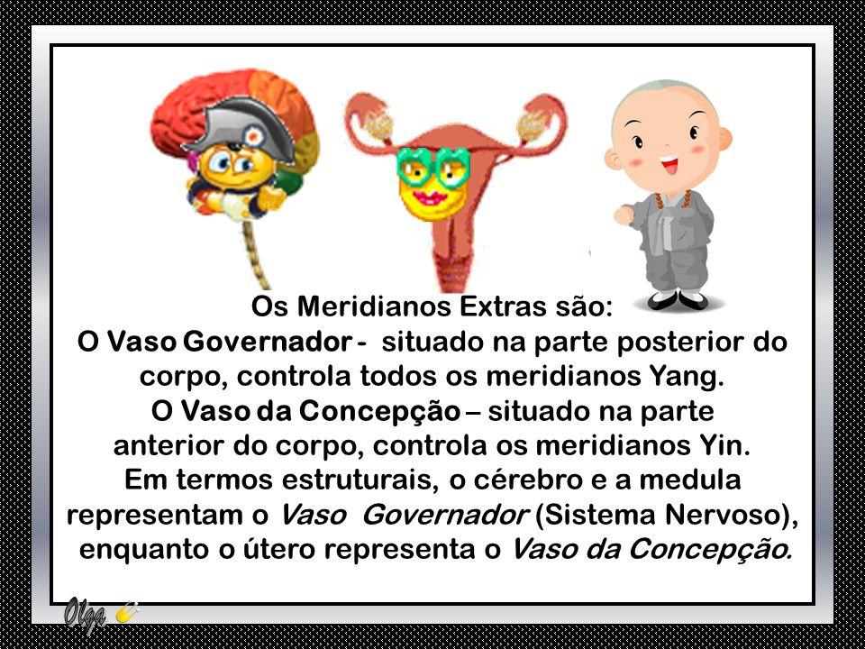 Os Meridianos Extras são: