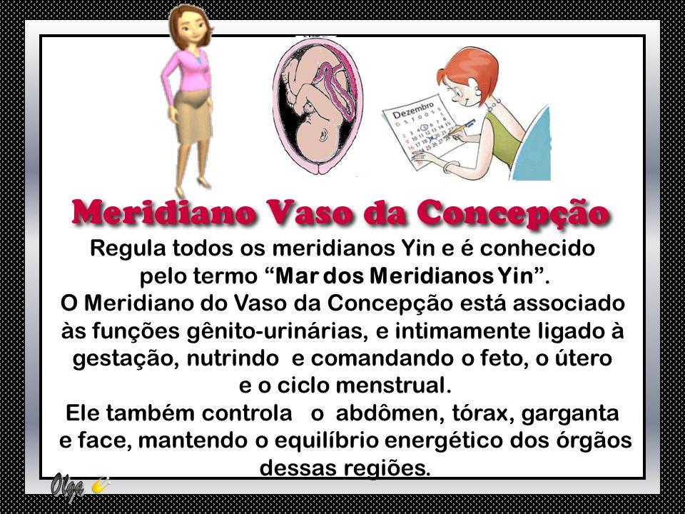 Regula todos os meridianos Yin e é conhecido