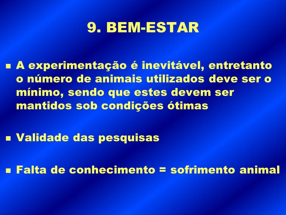 9. BEM-ESTAR