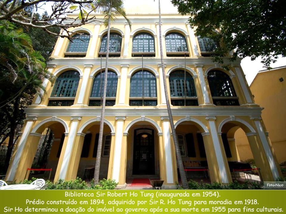 Biblioteca Sir Robert Ho Tung (inaugurada em 1954).