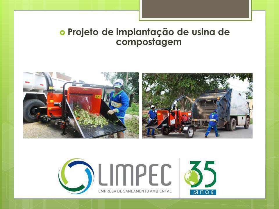 Projeto de implantação de usina de compostagem