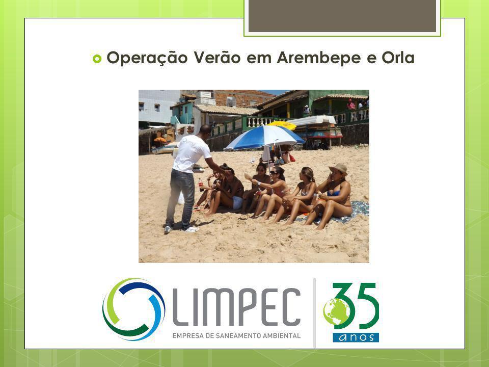 Operação Verão em Arembepe e Orla