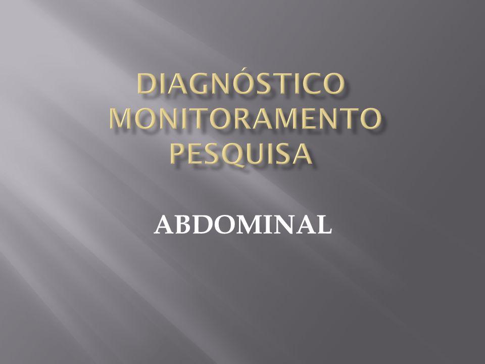 DIAGNÓSTICO MONITORAMENTO PESQUISA