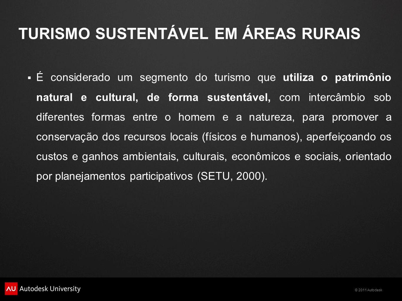 TURISMO SUSTENTÁVEL EM ÁREAS RURAIS