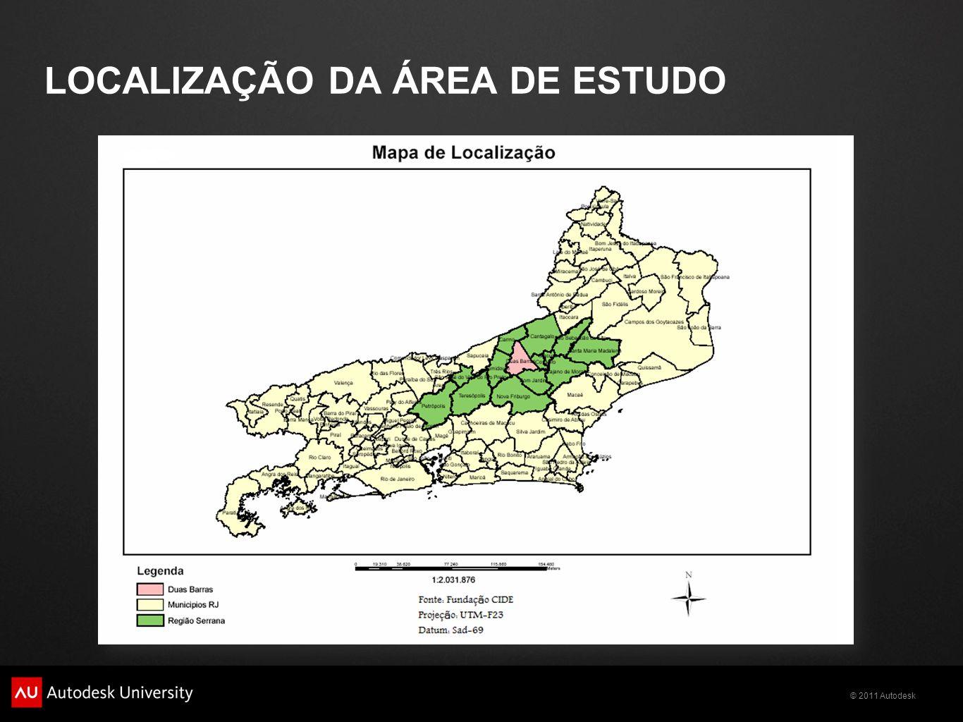 LOCALIZAÇÃO DA ÁREA DE ESTUDO