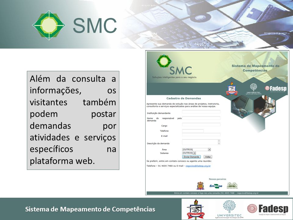Sistema de Mapeamento de Competências