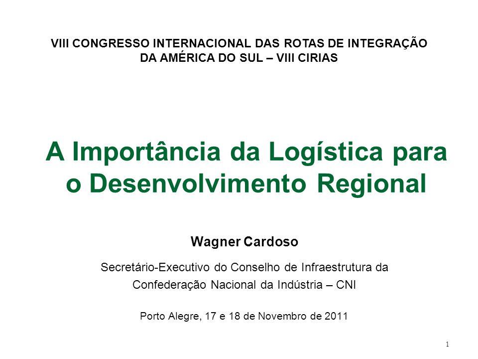 A Importância da Logística para o Desenvolvimento Regional