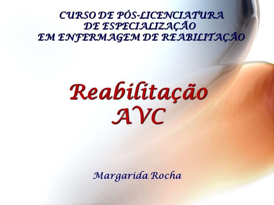 CURSO DE PÓS-LICENCIATURA DE ESPECIALIZAÇÃO EM ENFERMAGEM DE REABILITAÇÃO