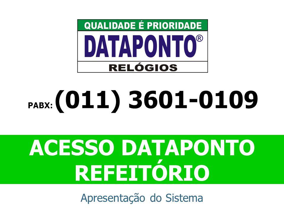 ACESSO DATAPONTO REFEITÓRIO