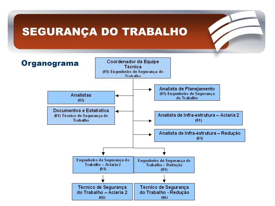 SEGURANÇA DO TRABALHO Organograma