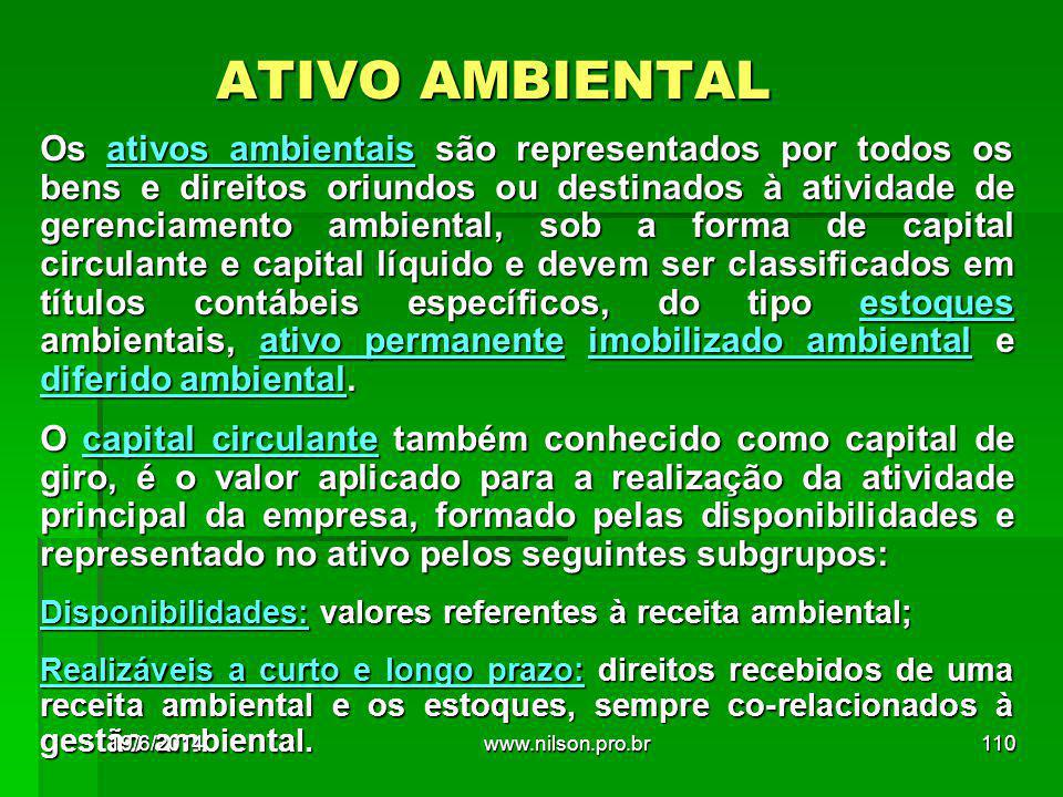 ATIVO AMBIENTAL