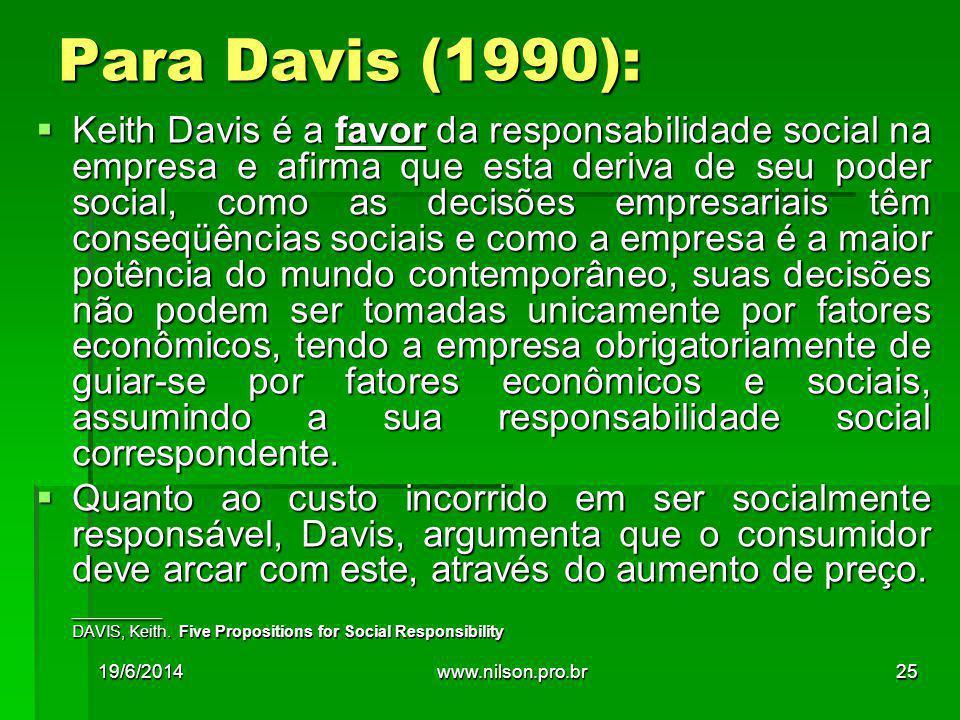 Para Davis (1990):
