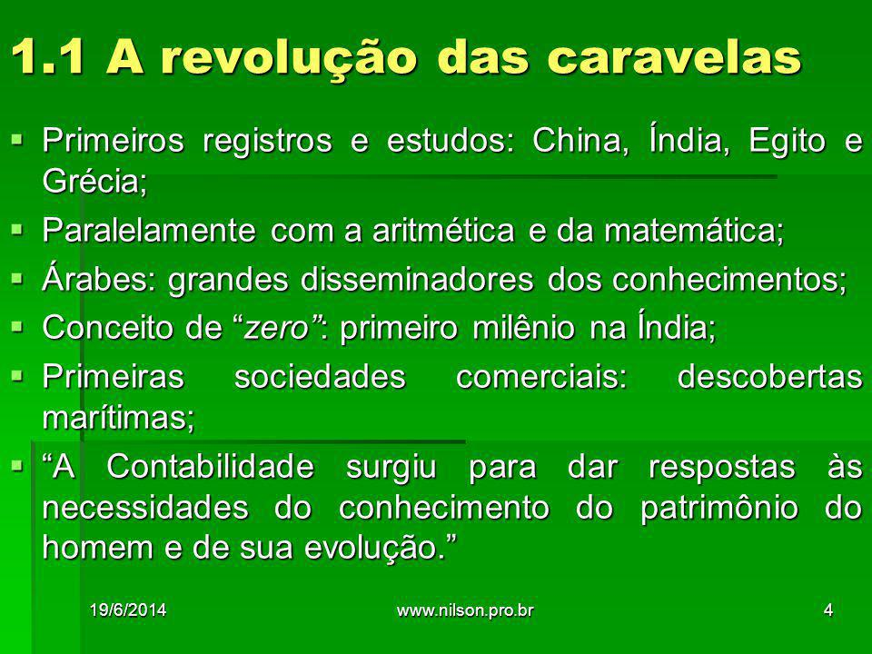 1.1 A revolução das caravelas