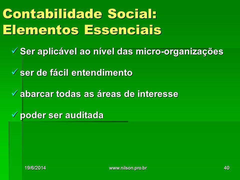Contabilidade Social: Elementos Essenciais