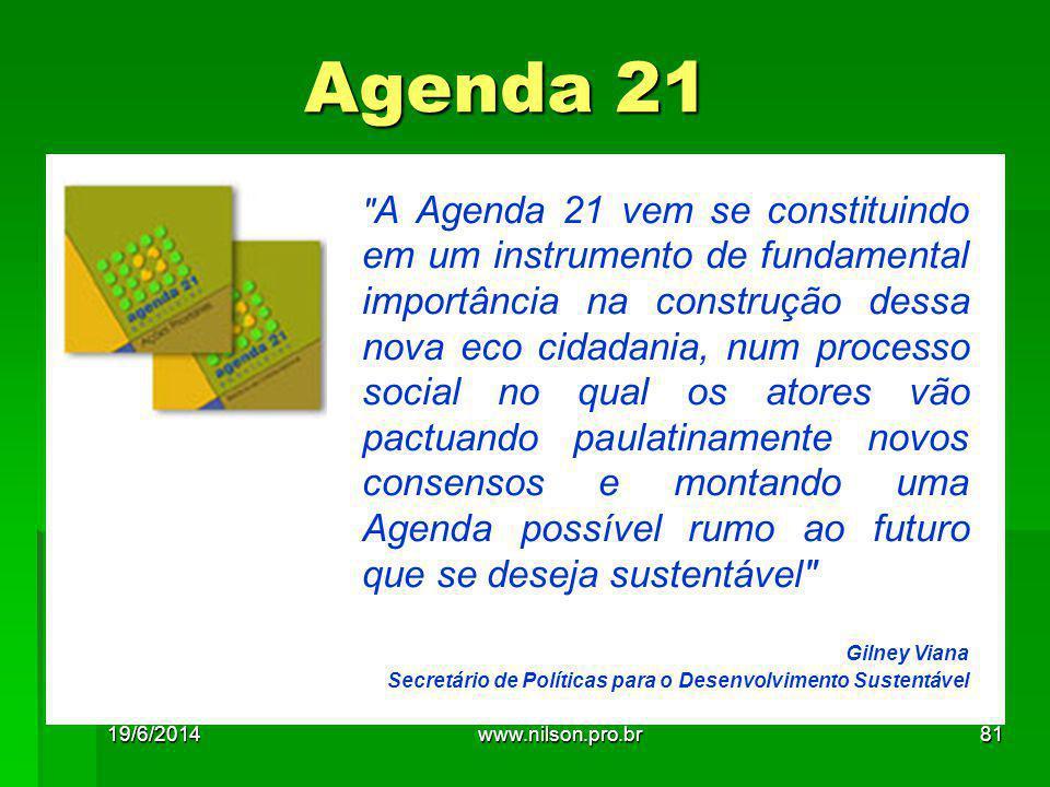 Agenda 21 A.