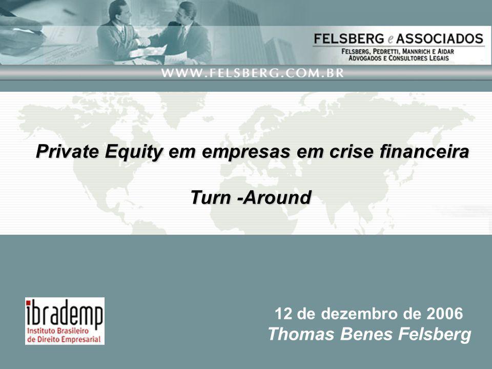 Private Equity em empresas em crise financeira
