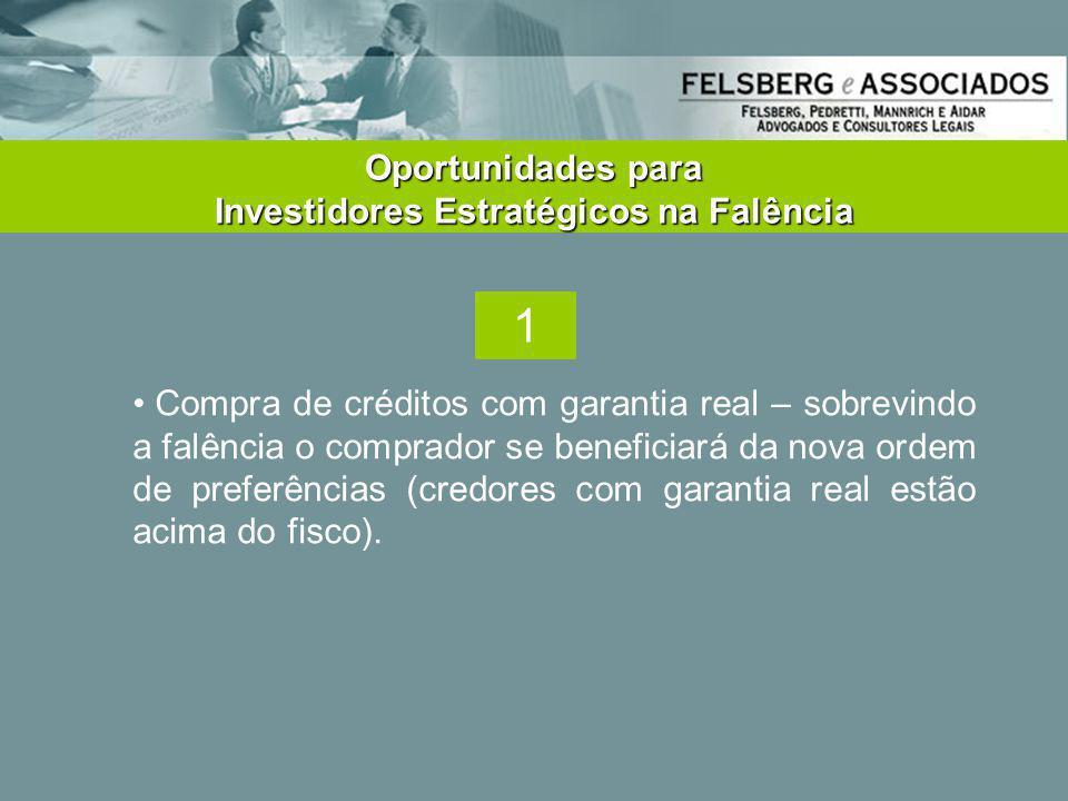 Oportunidades para Investidores Estratégicos na Falência