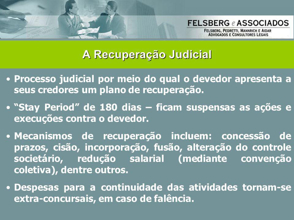 A Recuperação Judicial