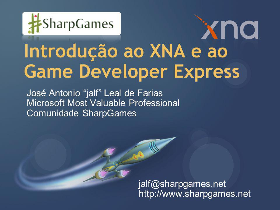 Introdução ao XNA e ao Game Developer Express