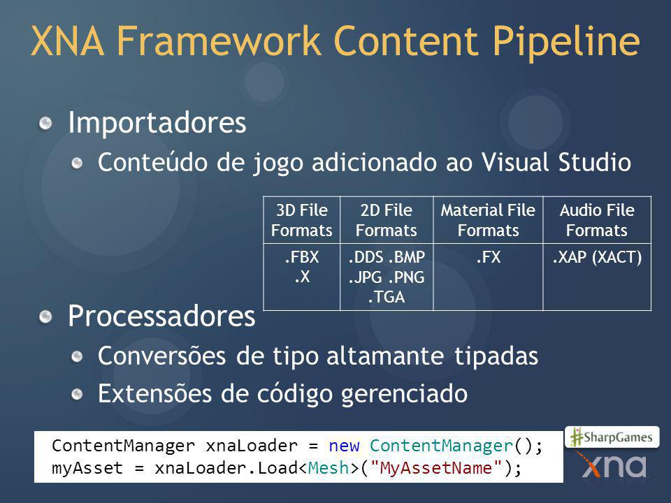 XNA Framework Content Pipeline