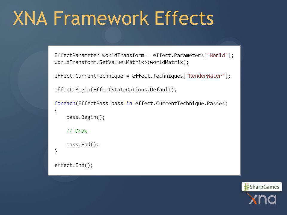XNA Framework Effects