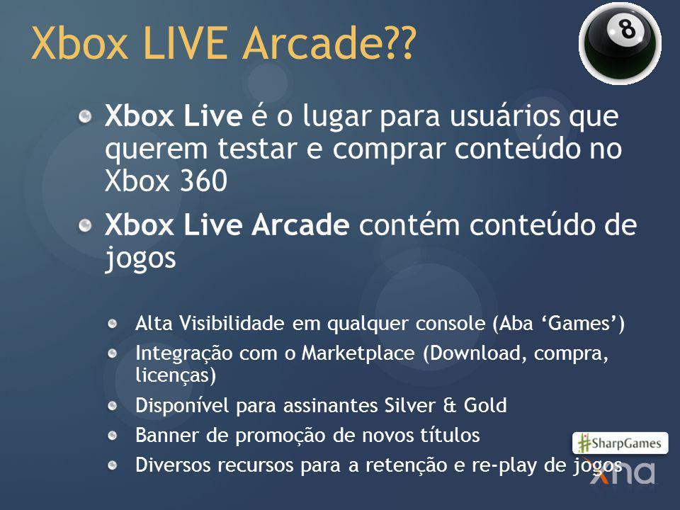 4/2/2017 2:23 PM Xbox LIVE Arcade Xbox Live é o lugar para usuários que querem testar e comprar conteúdo no Xbox 360.