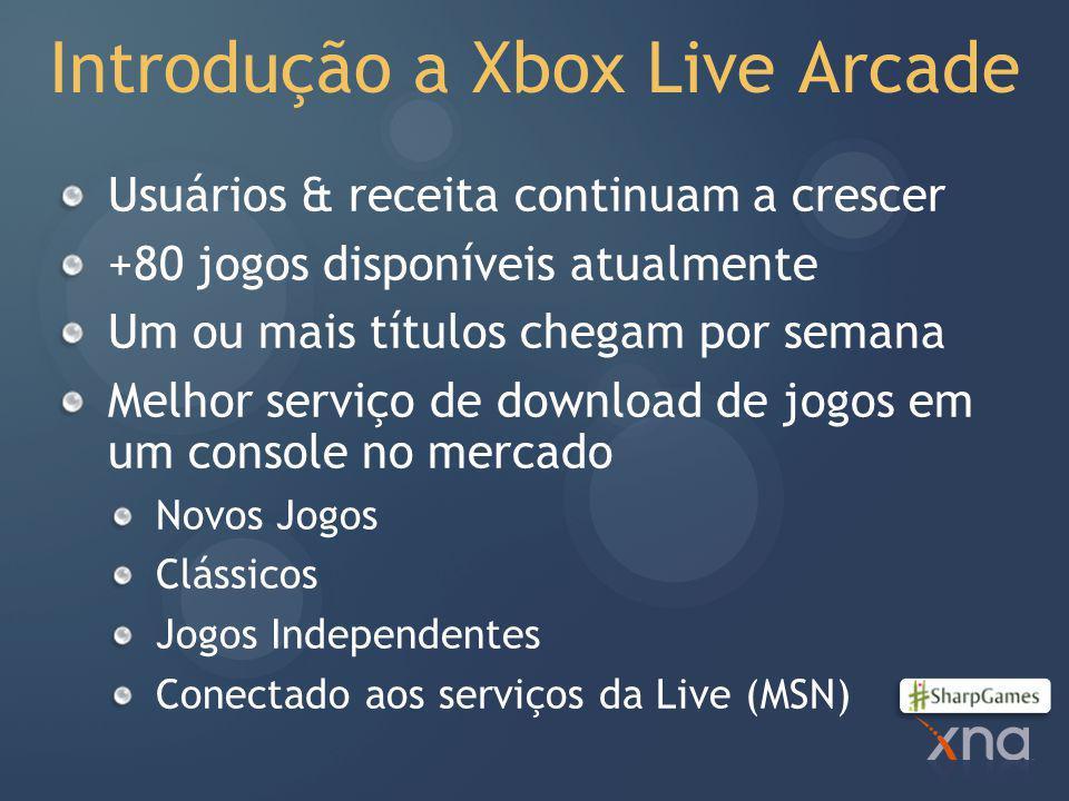 Introdução a Xbox Live Arcade