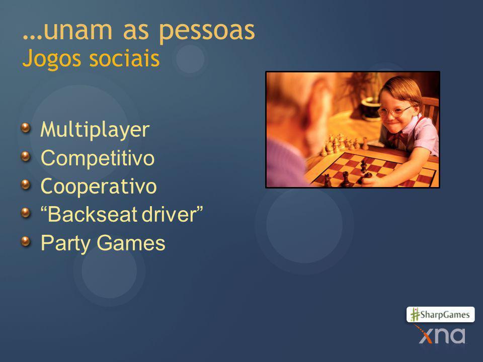 …unam as pessoas Jogos sociais
