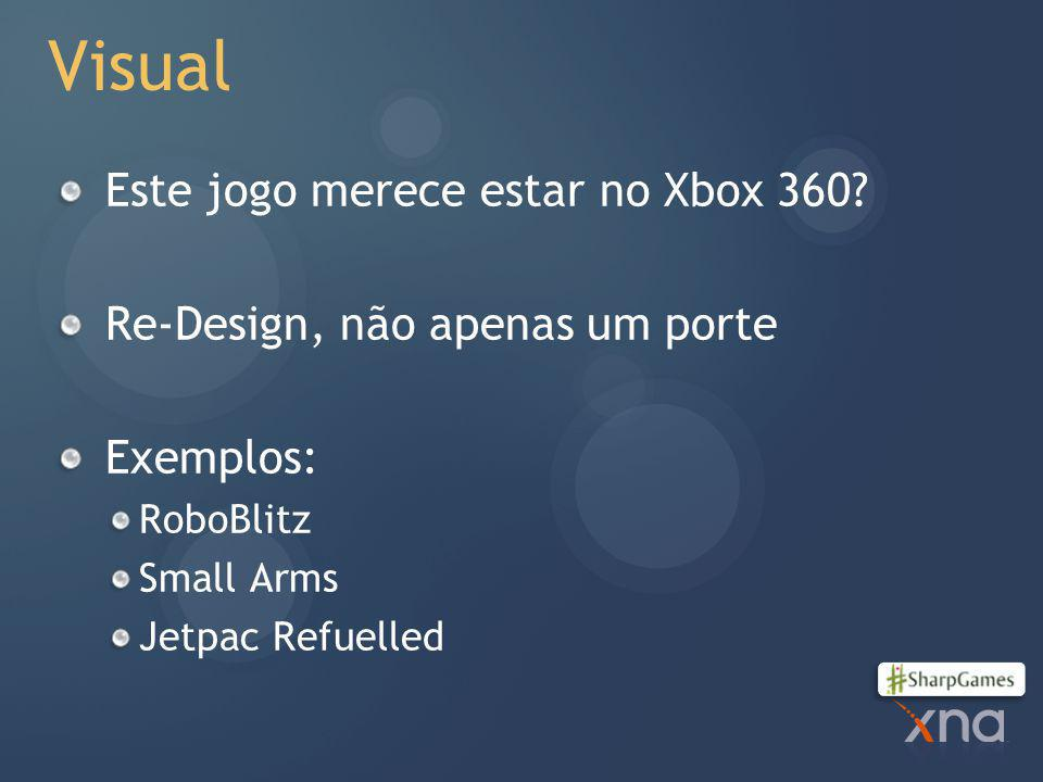 Visual Este jogo merece estar no Xbox 360