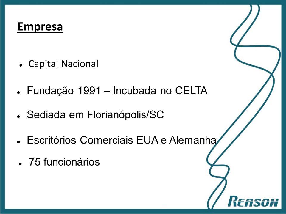 Empresa Capital Nacional Fundação 1991 – Incubada no CELTA