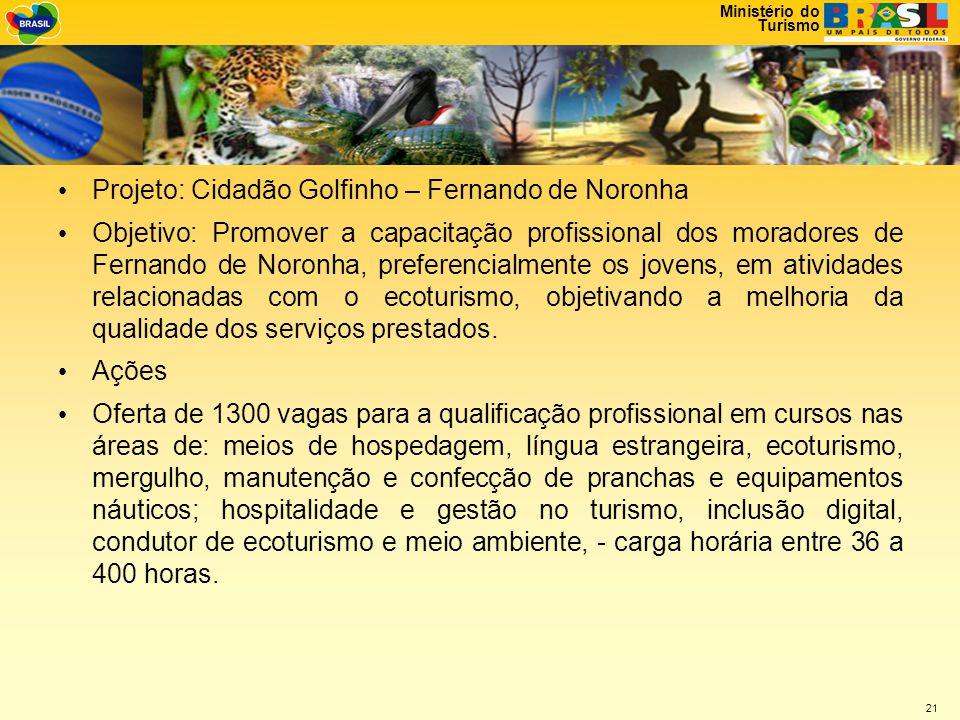 Projeto: Cidadão Golfinho – Fernando de Noronha
