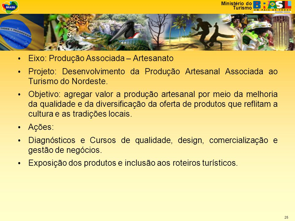 Eixo: Produção Associada – Artesanato