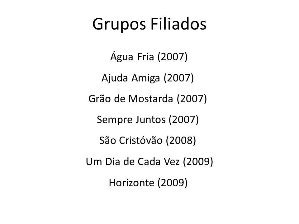Grupos Filiados Água Fria (2007) Ajuda Amiga (2007)