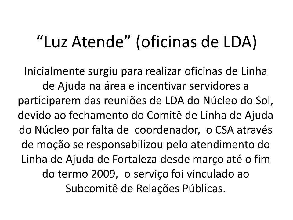 Luz Atende (oficinas de LDA)