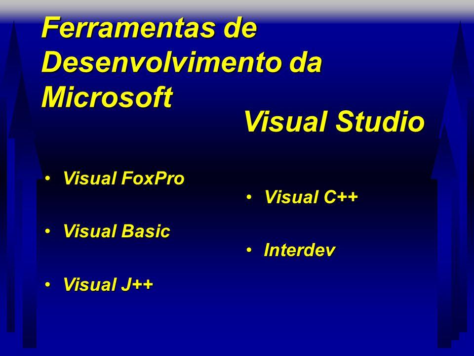 Ferramentas de Desenvolvimento da Microsoft