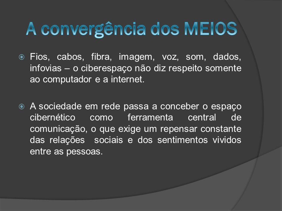 A convergência dos MEIOS