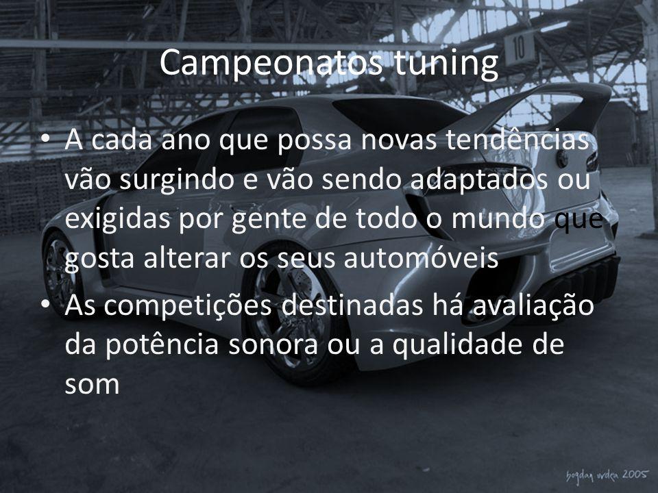 Campeonatos tuning